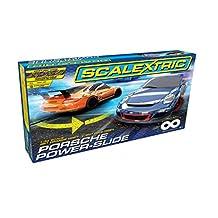 Scalextric C1343T Porsche Power-Slide Slot Car Race Set (1:32 Scale)