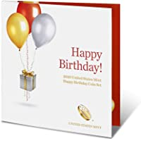 2020 S Birthday Coin Set 2020 Happy Birthday Coin Set 5 Deep Cameo Proof Coins Very Good