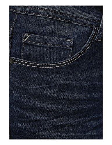Wash blue black Used 10770 Blu Slim Jeans Cecil Donna xIqwzv0Xa