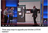 Appliances Refrigerators Black Best Deals - Large Appliance Stainless Steel Film Peel It! Stick It! Love It! 36