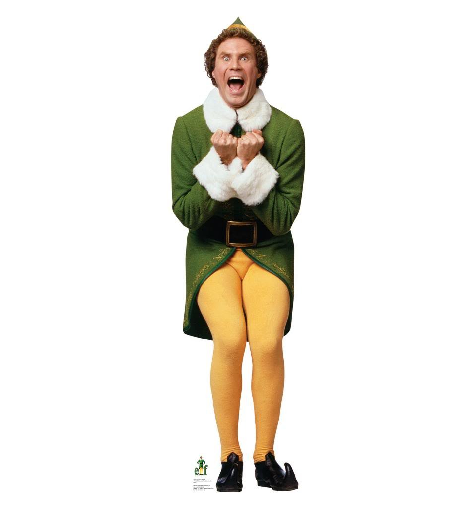Buddy the Elf ''Excited'' - Elf - Advanced Graphics Life Size Cardboard Standup