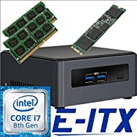 Intel NUC7I7DNHE 8th Gen Core i7 System, 32GB Dual Channel DDR4, 960GB M.2 SSD, NO OS, Pre-Assembled and Tested by E-ITX