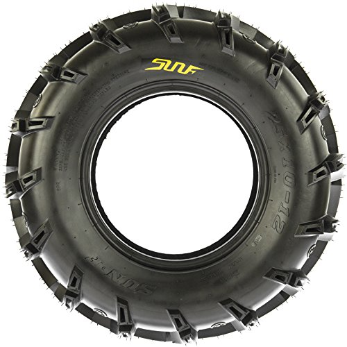 SunF A050 AT Mud & Trail 25x11-10 ATV UTV Tires, 6PR, Tubeless by SunF (Image #3)