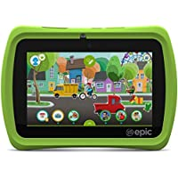 LeapFrog Epic 7 Android-based Kids Tablet 16GB, Green (Certified Refurbished)