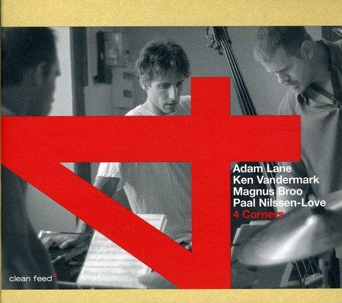 CD : Adam Lane - 4 Corners (Spain - Import)