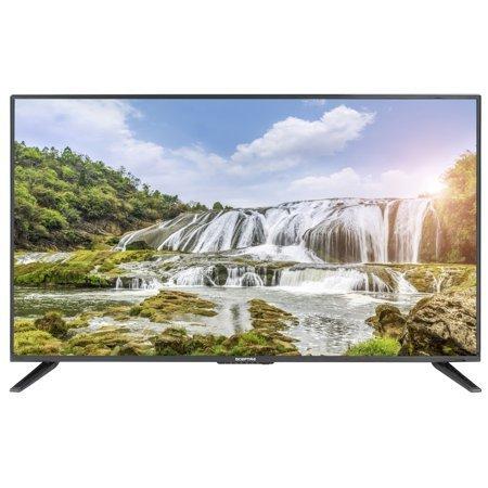 Sceptre 43″ Class Fhd (1080p) LED TV Memc 120 3X HDMI, Metal Black 2019 (X435BV-FSR)