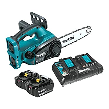 Makita XCU02PT 18V X2 LXT Lithium-Ion 36V 5.0Ah Cordless Chain Saw Kit