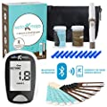 Keto Mojo Bluetooth Blood Ketone And Glucose Testing Kit 10 Ketone 10 Glucose Test Strips 10 Lancets 1 Meter 1 Lancing Device Monitor Your Ketogenic Diet