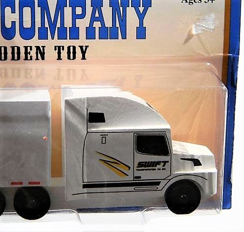 Swift Trucking Reviews >> Amazon Com Whittle Toy Company Handcrafted Swift Transportation