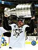 Sidney Crosby Pittsburgh Penguins 2016 NHL Stanley Cup Trophy Photo (Size: 8