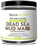 Face Moisturizer Paraben Free - Dead Sea Mud Mask with Minerals, 8 oz ~ Use as a Deep Cleansing, Exfoliating Detox Skin Mask / Mud Pack for Face and Body ~ Also Works as a Hair Moisturizer ~ All Natural, Free of GMOs and Parabens