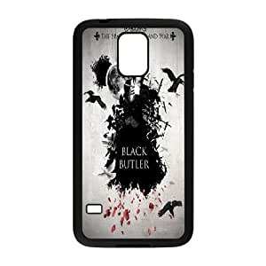 Samsung Galaxy S5 Phone Case Black Black Butler VLN1127985