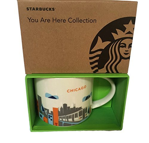 Starbucks You Are Here Collection Chicago Mug