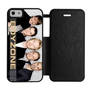 Custom Irish boy band Boyzone iPhone 5,5S silicone Rubber and plastic Red&Black&White Shell Case Cover(HD image)
