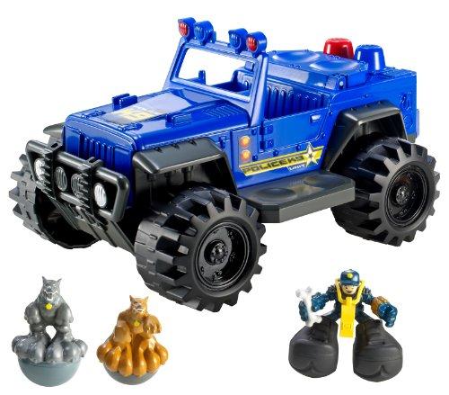 Matchbox Big Boots Police K9 ATV