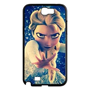 QSWHXN Diy Phone Case Frozen Pattern Hard Case For Samsung Galaxy Note 2 N7100