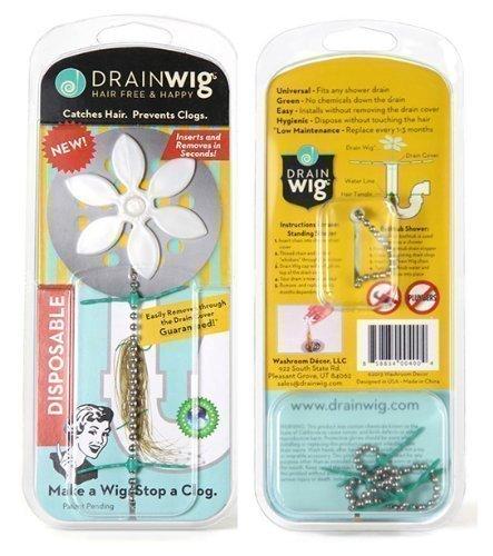 DrainWig Shower Hair Catcher