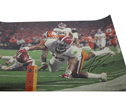 Kenyan Drake Autographed 16x20 Photo Alabama Crimson Tide - Certified Authentic by Sports Collectibles Online