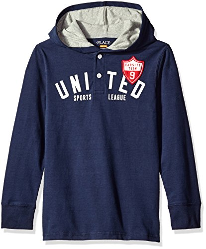 Cotton Hooded Rugby - 3