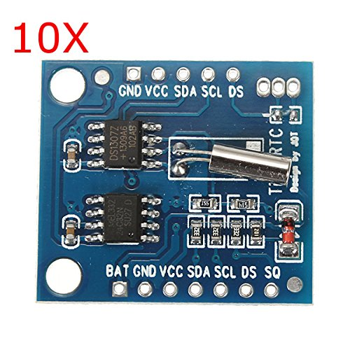 BephaMart 10Pcs I2C RTC DS1307 AT24C32 Real Time Clock Module For AVR ARM PIC SMD by BephaMart