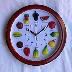 Quartz fruit clock
