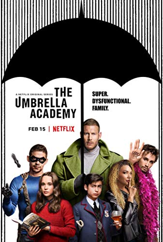 The Umbrella Academy Superhero web TV series Poster -