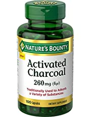 Nature's Bounty Activated Charcoal, 260 Mg, 100 Count