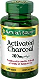 Cheap Nature's Bounty Activated Charcoal 260 mg, 100 Capsules, Dietary Supplement to Support a Healthy Lifestyle