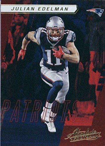 2017 Panini Absolute #86 Julian Edelman New England Patriots
