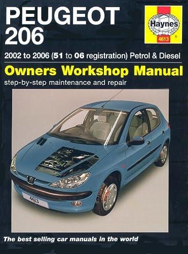 buy peugeot 206 petrol and diesel service and repair manual 2002 to rh amazon in Peugeot 3007 Peugeot 2007