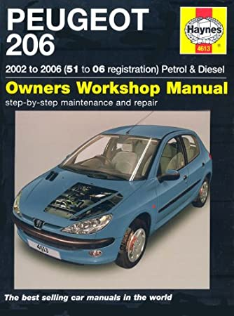 manual peugeot 206 motor