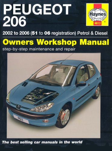 service manual peugeot 206 free owners manual u2022 rh wordworksbysea com peugeot 206 gti repair manual Peugeot 207