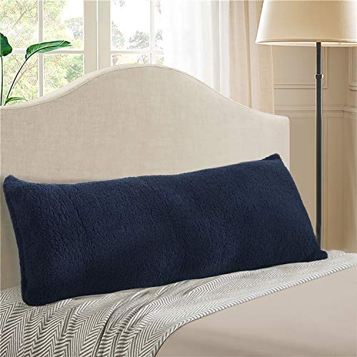 - Reafort Ultra Soft Sherpa Body Pillow Cover/Case with Zipper Closure 21