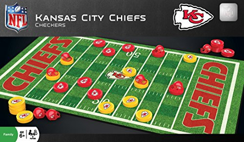 MasterPieces NFL Kansas City Chiefs Checkers Game