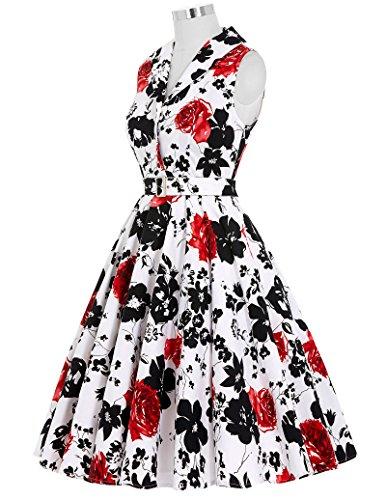 Vintage Belle Anni Donne Abito Poque w4wqPF6a
