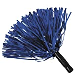 Blue Metallic Foil Pom-Poms (1 dz)