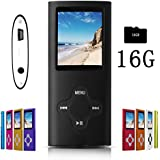 G.G.Martinsen Black Versatile MP3/MP4 Player Digital MP3 Player, MP4 Player, Video/Media/Music Player