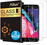 Ailun Screen Protector for iPhone 8 Plus/7 Plus/6s Plus/6 Plus-5.5 Inch 3Pack 2.5D Edge Tempered Glass Compati