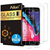 Wireless : Ailun Screen Protector for iPhone 8 Plus/7 Plus/6s Plus/6 Plus-5.5 Inch 3Pack 2.5D Edge Tempered Glass Compatible with iPhone 8 Plus/7 plus/6s Plus/6 Plus-Anti Scratch Case Friendly