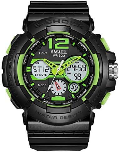 ATAとU- SMAELの腕時計の大きいダイヤルのデジタル屋外の腕時計の電子防水バックライトのカレンダーの腕時計