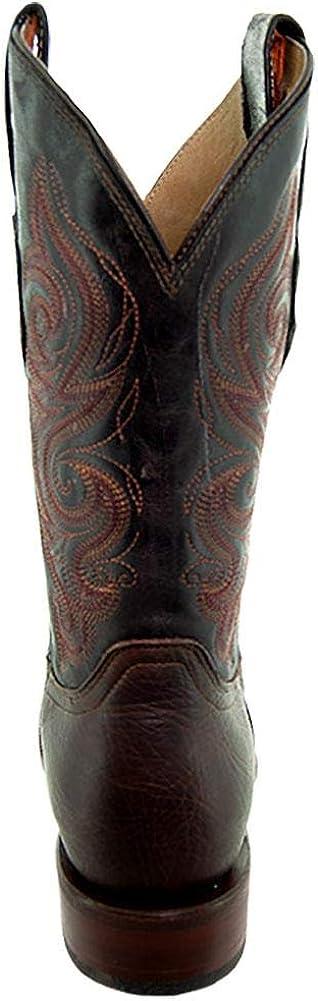Soto Boots Mens Broad Square Toe Cowboy Boots H9001