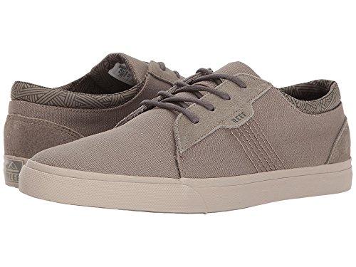 Reef Men's Ridge Fashion Sneaker, Dark Grey/Silver, 13 M US