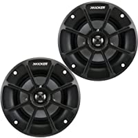 Kicker PS42 (40PS42) 4 2-Way PS Series 2 Ohm Coaxial Marine Speakers