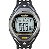 Timex Ironman Men's Race Trainer Heart Rate Monitor Watch, Black/Grey, Full Size