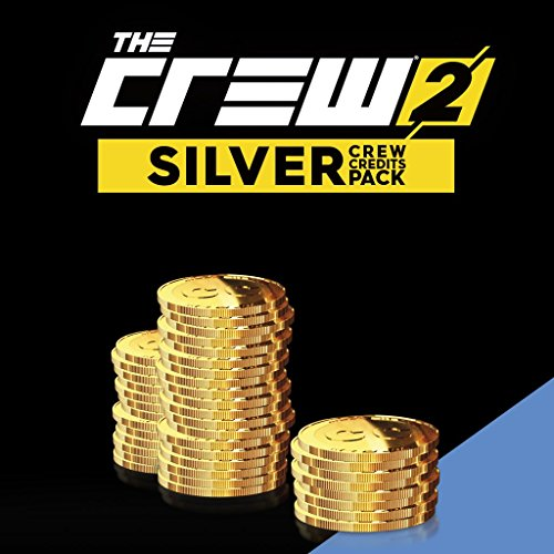THE CREW 2:  SILVER CREDITS PACK (180000 + 40000 BONUS) - PS4 [Digital Code] by Ubisoft