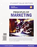 Principles of Marketing, Student Value Edition Plus MyMarketingLab with Pearson eText -- Access Card Package (16th Edition) 16th Edition