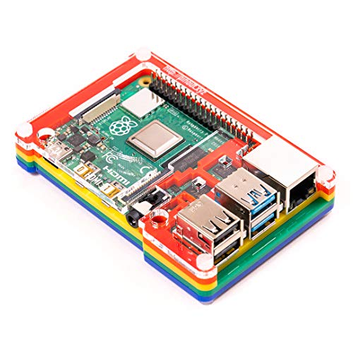 Pibow Coupé 4 Raspberry Pi 4 Only Ninja