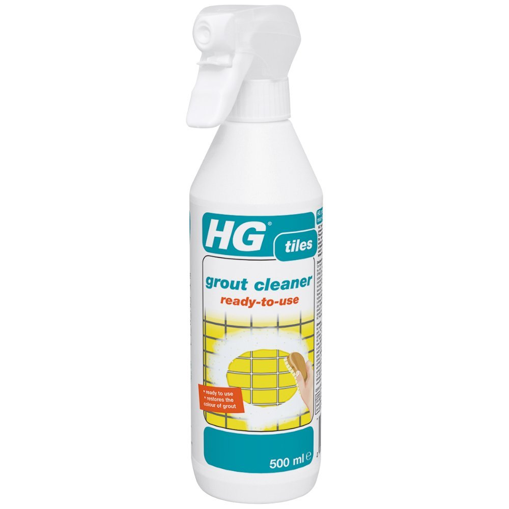 HG grout cleaner ready-to-use 500ML - A ready-to-use tile grout cleaner for floor grout, bathroom tile grout and wall grout. HG Hagesan (UK) Ltd 591050106