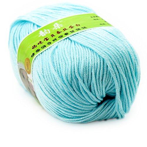 Blue 98% Bamboo Cotton - 7