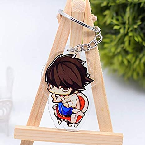 Amazon.com: Momoso_Store death note keychain cute double ...